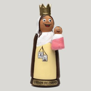 Incensario de Cerámica Virgen del Carmen